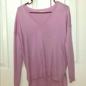 Purple Boyfriend Cut Sweater